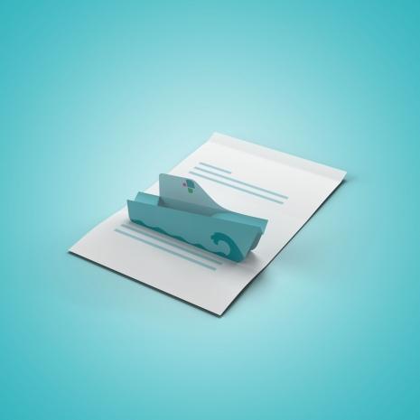 Pop-up-Mailing