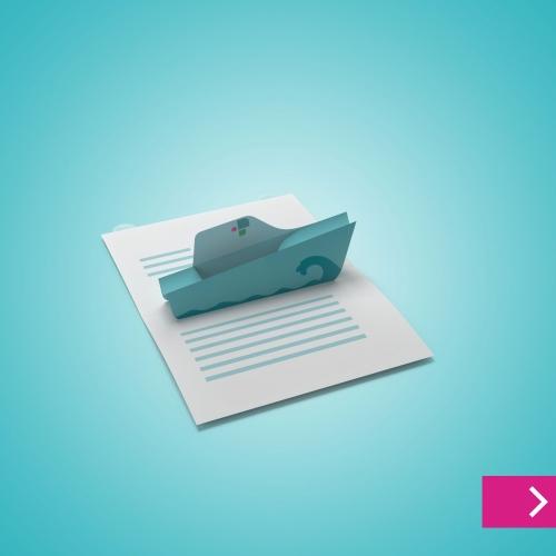 Pop-up-Mailing A4