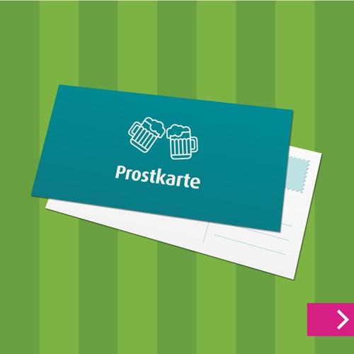 Postkarte DIN lang