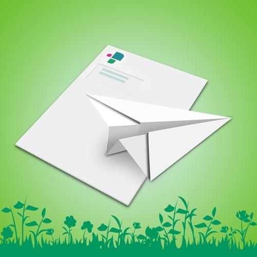 Origami-Mailing